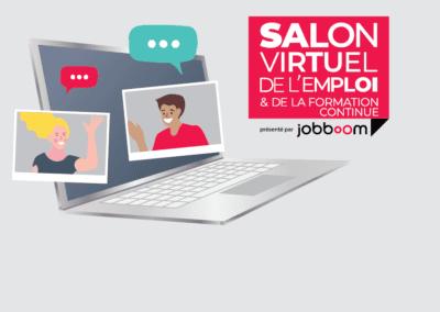 Salon virtuel de l'emploi et de la formation continue