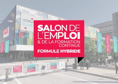 Salon de l'emploi – Formule hybride