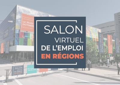 Salon virtuel de l'emploi en régions